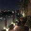 ベランダを快適空間に★ライトアップで夜の雰囲気アップ