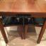 木製のテーブルに電源タップをくっつけ☆机の上のごちゃごちゃ配線を整理